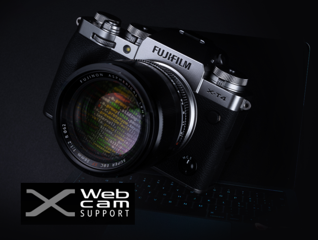 FUJIFILM X Webcam Support